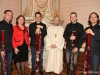 Martin Machovits, Gerlinde Hofbauer, Leonard Eröd, Abt Michael Proházka, David Seidel, Marcelo Padilla. Foto: Martin Kalchhauser