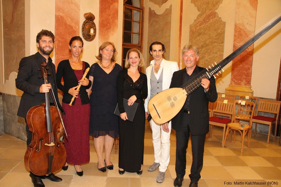 Philipp Comploi, Annemarie Podesser, Gerlinde Hofbauer, Anna Magdalena Auzinger, Elias Morales Pérez, Hans Brüderl. Foto: Martin Kalchhauser