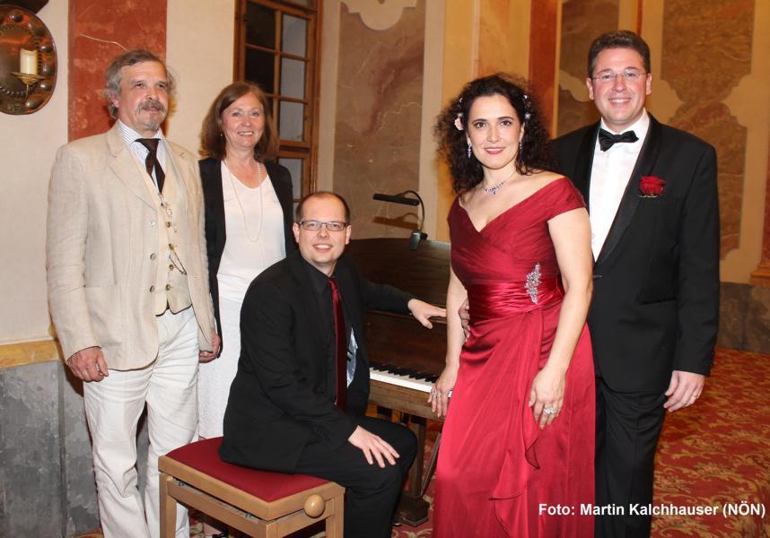 Ingomar und Gerlinde Hofbauer, Christian Koch, Alexandra Reinprecht und Horst Hubmann. Foto: Martin Kalchhauser