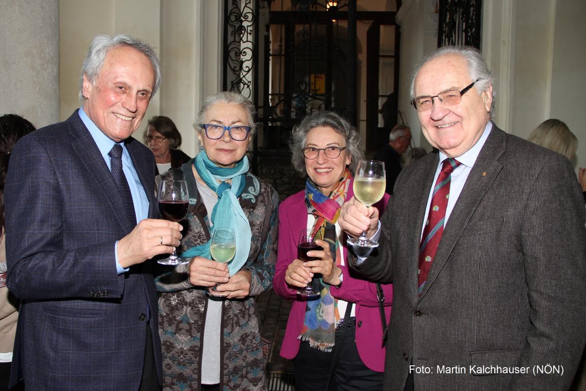 Josef und Gertraud Höchtl, Anneliese und Erich Fidesser (von links). Foto: Martin Kalchhauser