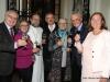 Erich und Anneliese Fidesser, Abt Michael Proházka, Ingomar Hofbauer, Gertraud und Josef Höchtl, Gerlinde Hofbauer (von links). Foto: Martin Kalchhauser