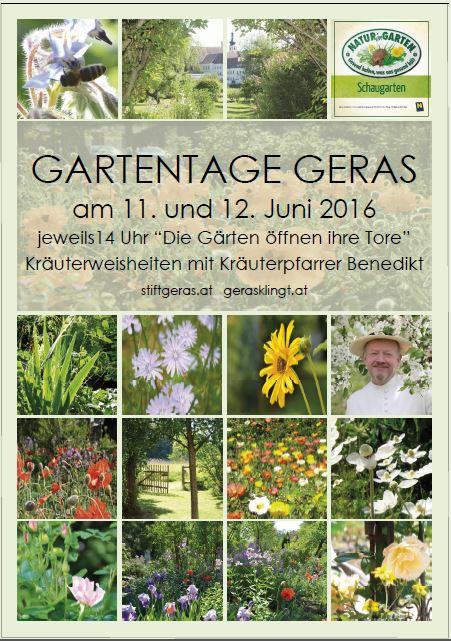 Gartentage Geras 2016